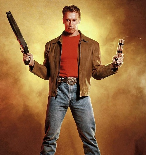 arnold schwarzenegger in last action hero 1993 album 20 Things You Never Knew About Last Action Hero