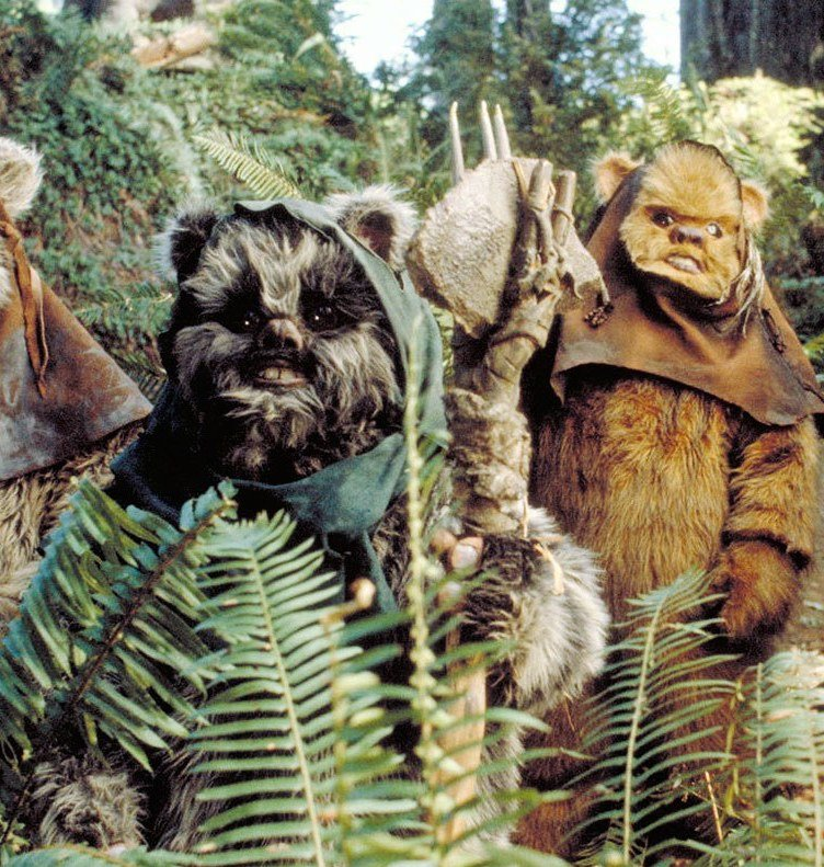 ewoks 1 20 Ways You Could Argue That The Empire Were Actually The Good Guys Of Star Wars