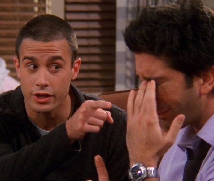 friends 2 e1621932103760 20 Reasons Why Ross In Friends Is Actually A Terrible Human Being
