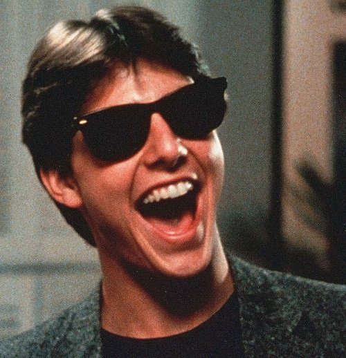 tom cruise risky business 1 20 Classic Movie Moments That Were Completely Improvised