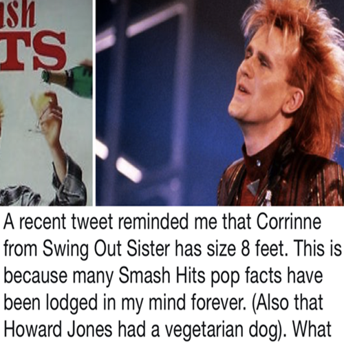 1 2 10 Fascinating Facts About Smash Hits, Our Favourite Childhood Magazine