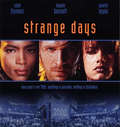 1995 strange days poster1 10 Things You Probably Didn't Know About Strange Days