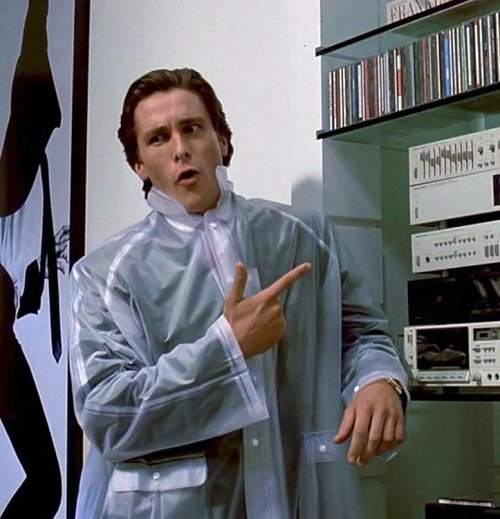 Christian Bale American Psycho hip to be square 20 Hilarious Comedies That Tackled Completely Unfunny Subjects