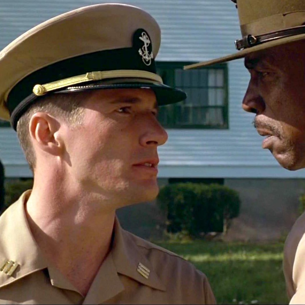 Richard Gere and Louis Gossett Jr. in AN OFFICER AND A GENTLEMAN e1579621768363 20 Things You Might Not Have Realised About An Officer And A Gentleman
