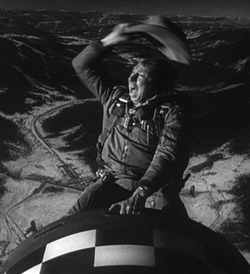 Slim Pickens riding the Bomb 20 Movies That Are Actually Way Better Than The Books They're Based On