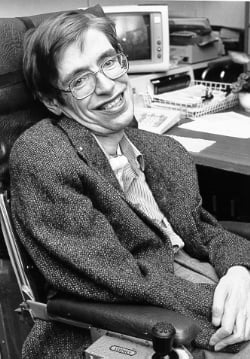 Stephen Hawking.StarChild 20 Actors Who Looked Exactly Like The Real People They Played
