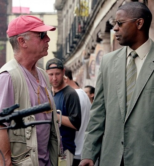 Tony Scott and Denzel Washington on the Man on Fire set 20 Things You Probably Didn't Know About Crimson Tide