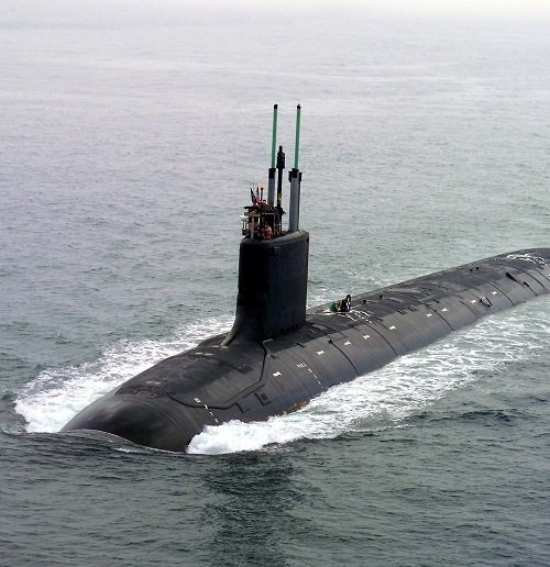 US Navy 040730 N 1234E 002 PCU Virginia SSN 774 returns to the General Dynamics Electric Boat shipyard 20 Things You Probably Didn't Know About Crimson Tide