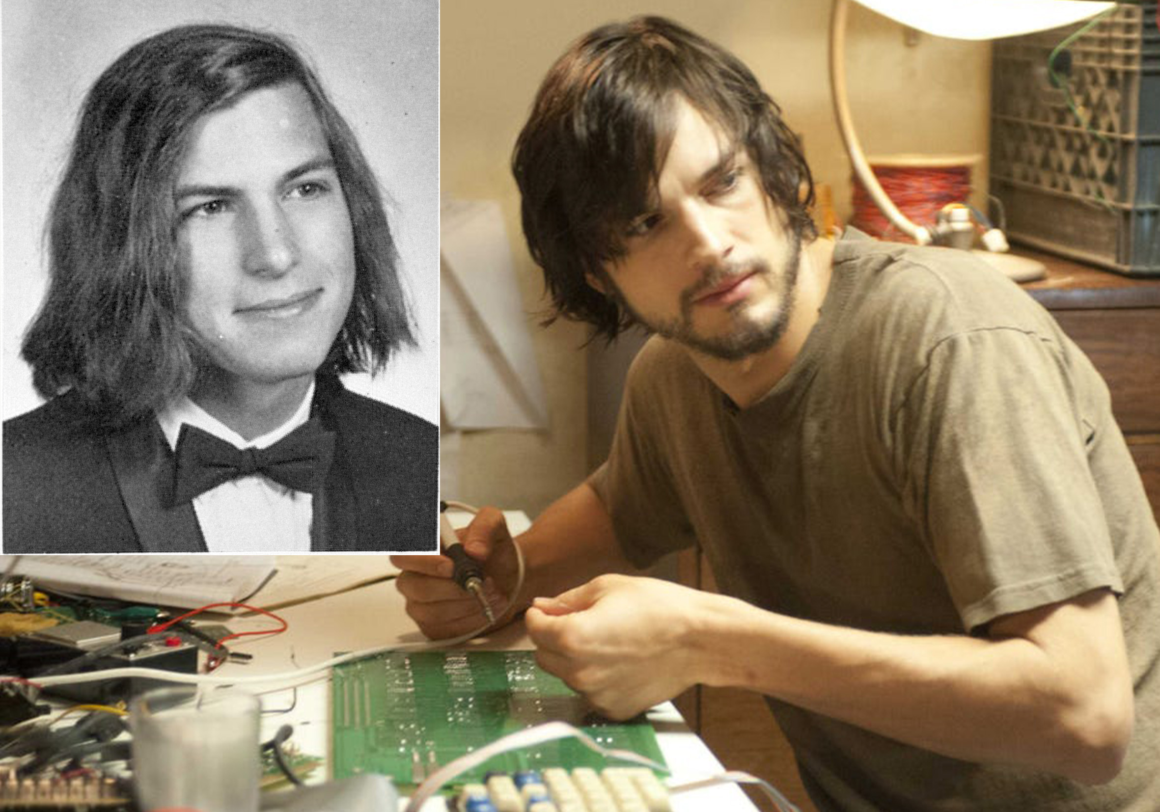 ashton kutcher steve jobs 20 Actors Who Looked Exactly Like The Real People They Played