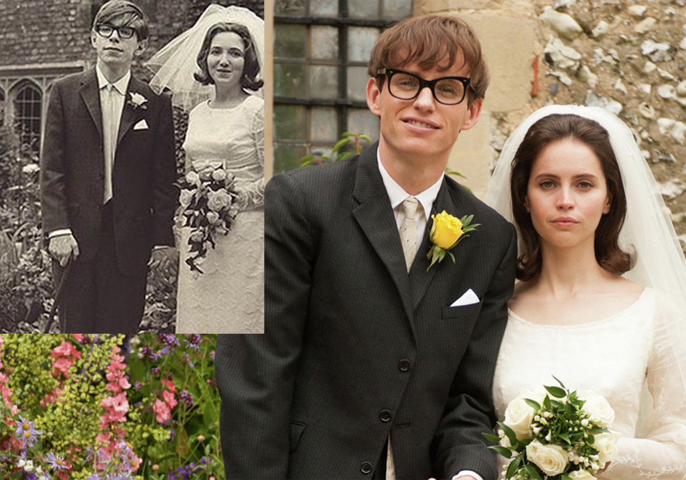 eddie redmayne stephen hawking 20 Actors Who Looked Exactly Like The Real People They Played