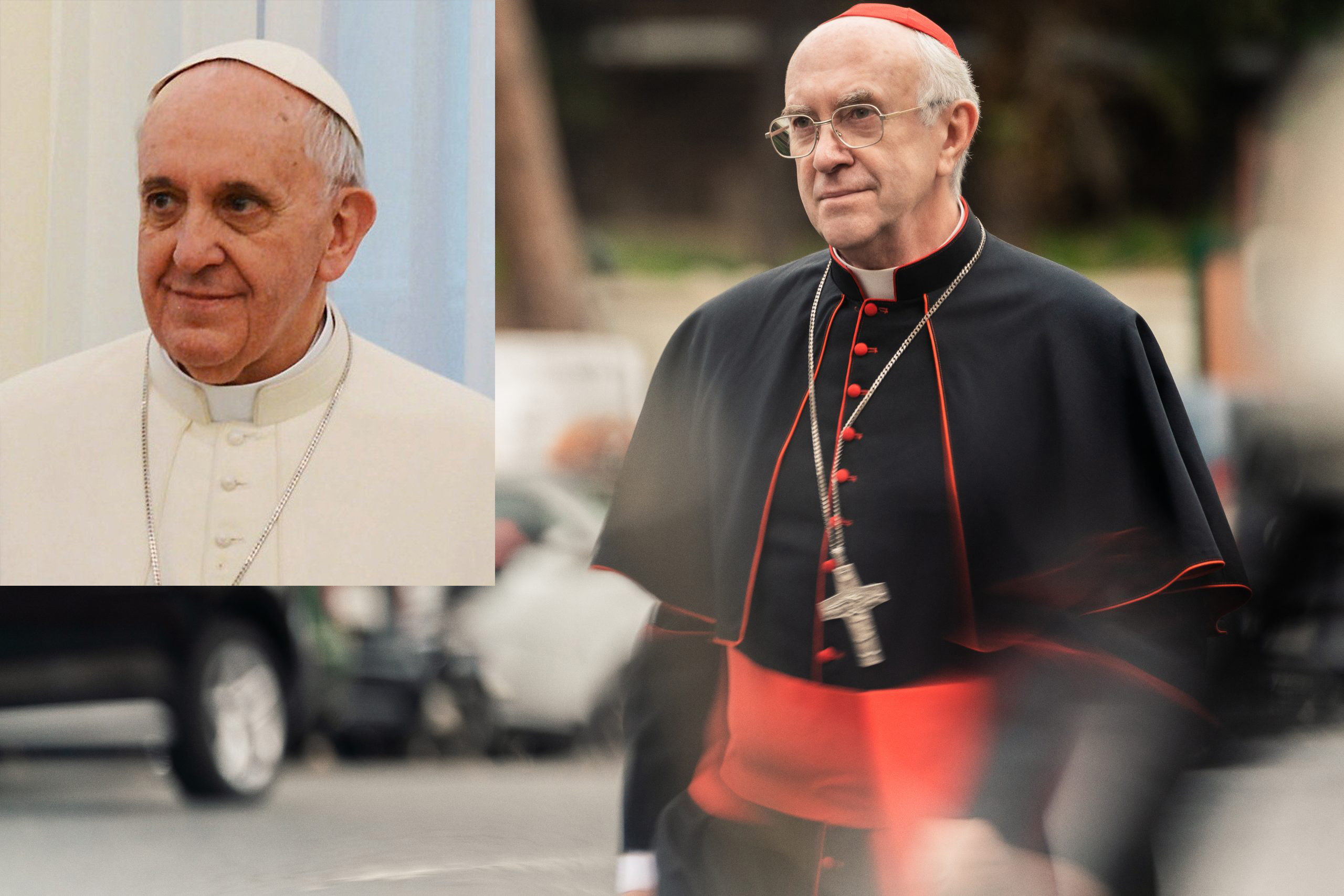 jonathan pryce pope francis 20 Actors Who Looked Exactly Like The Real People They Played