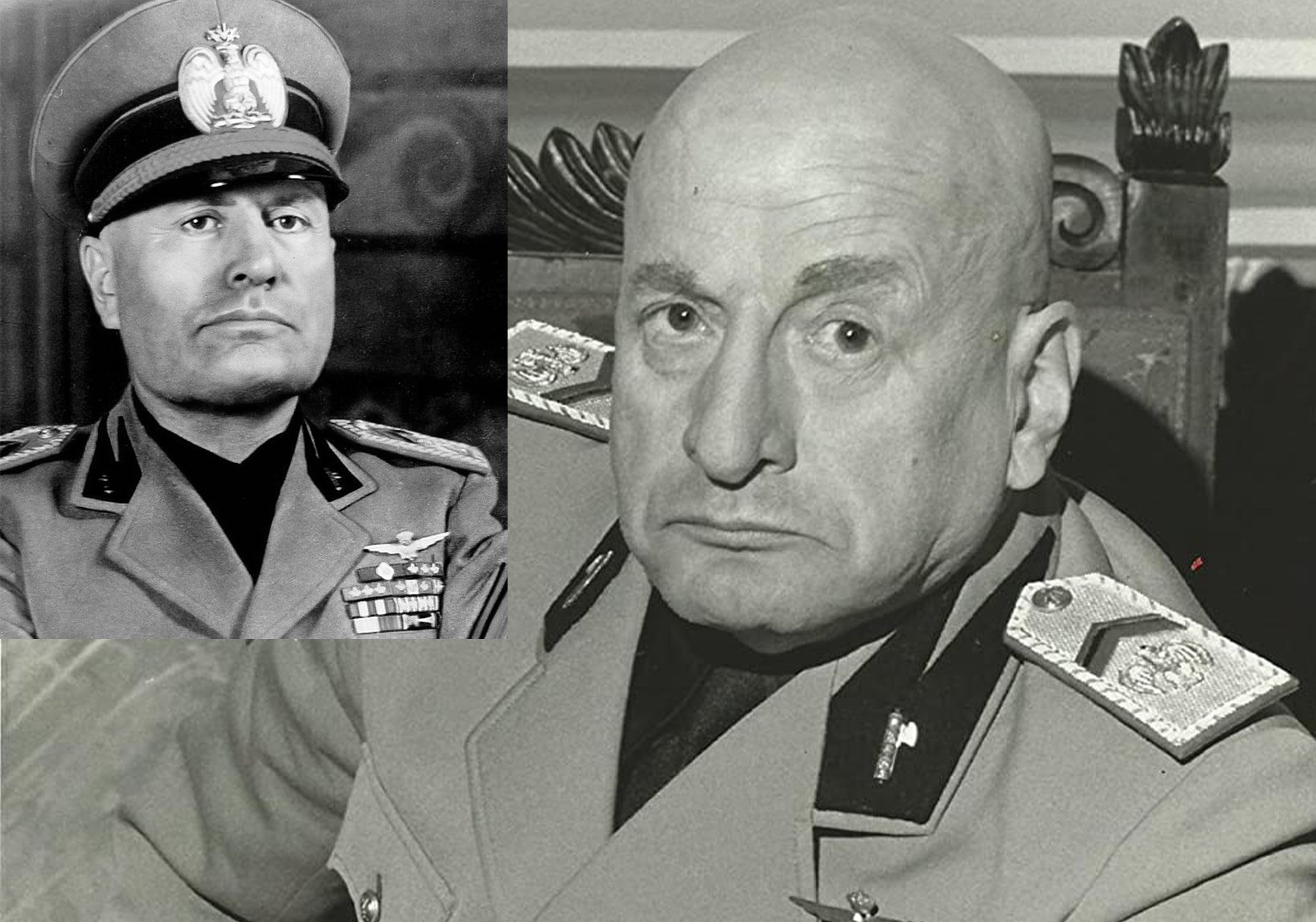 mussolini george c scott 20 Actors Who Looked Exactly Like The Real People They Played