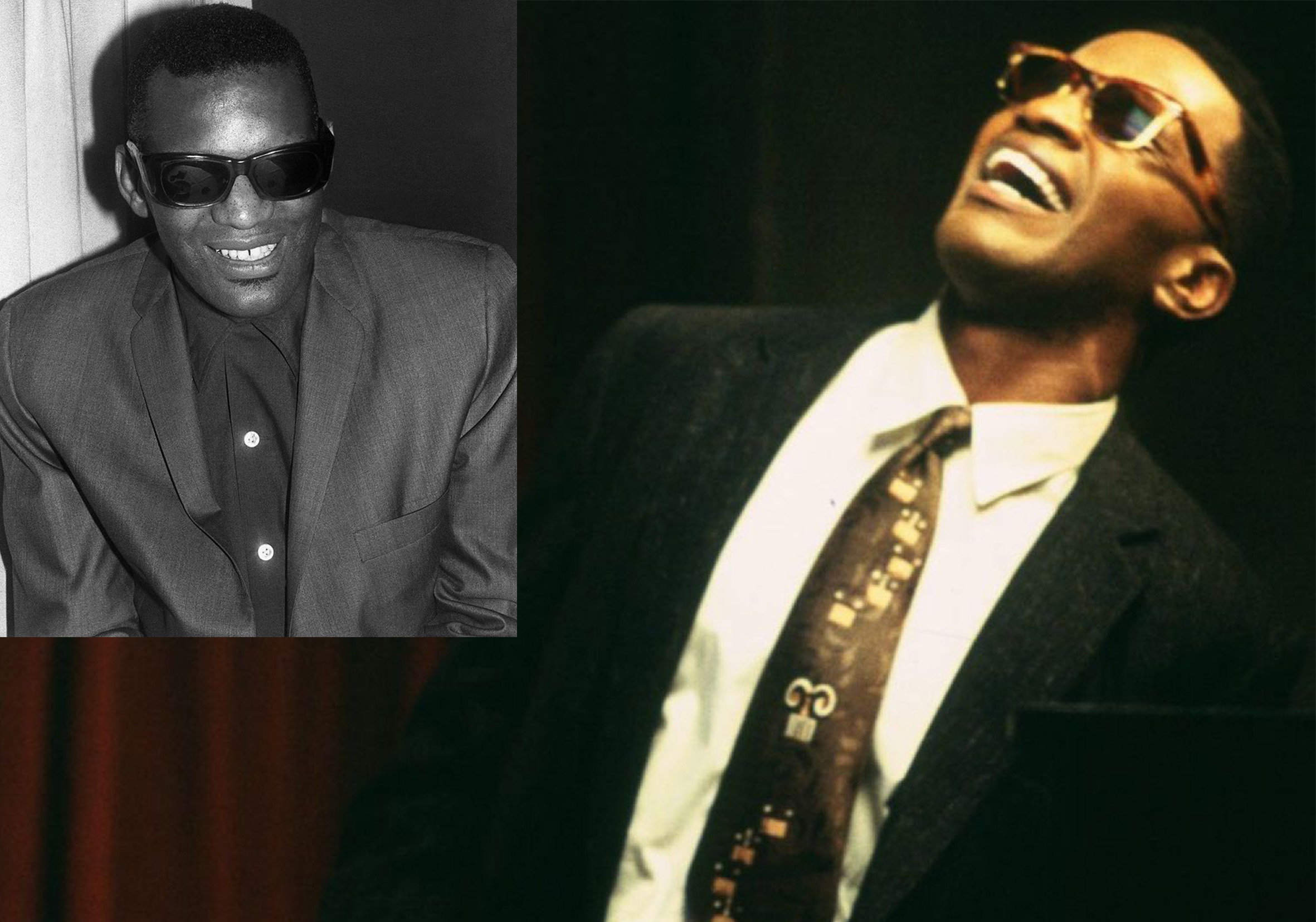ray charles jamie 20 Actors Who Looked Exactly Like The Real People They Played
