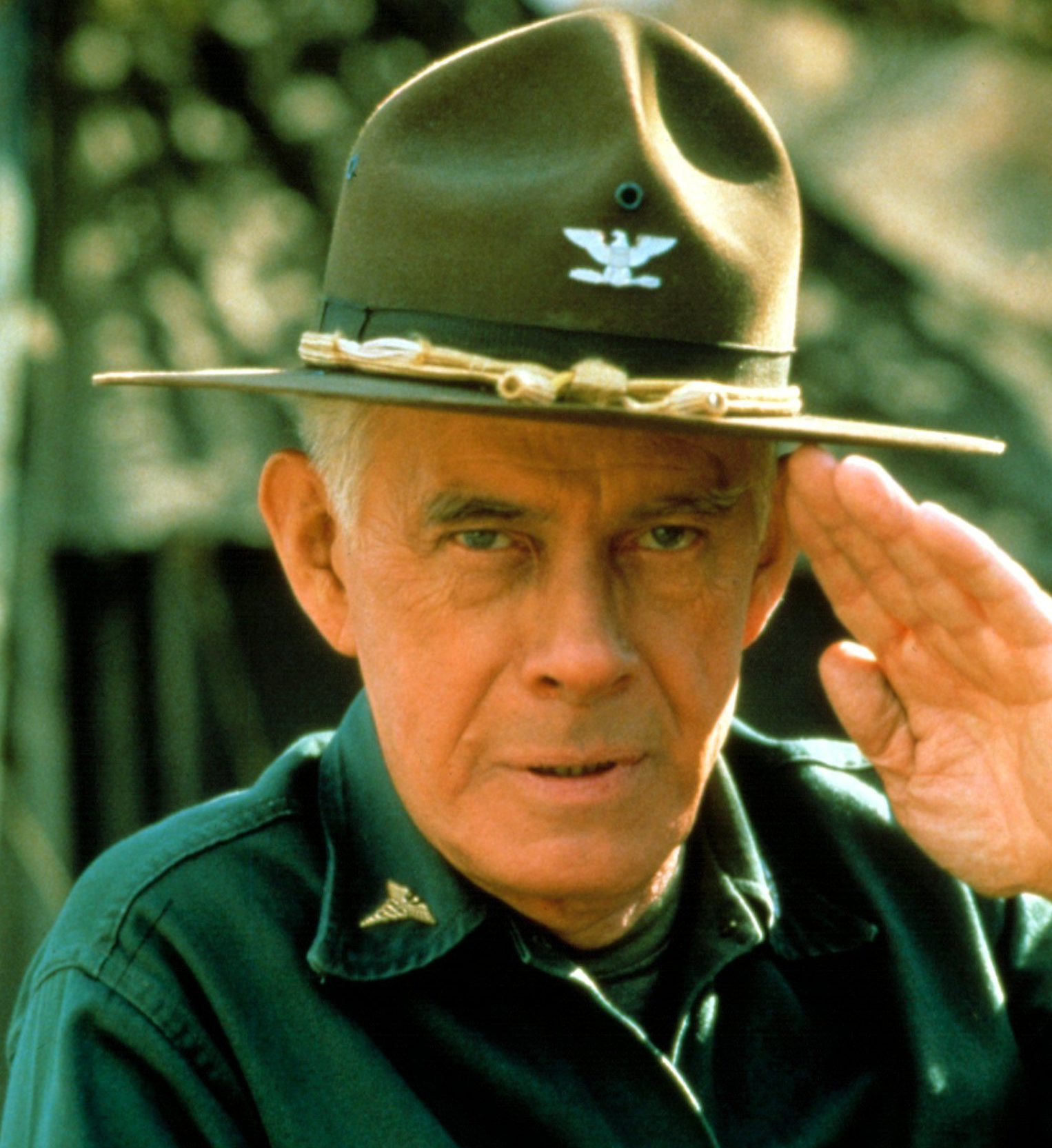 showbiz harry morgan e1581497269331 Just The Facts (20 Of Them) About Dan Aykroyd And Tom Hanks' Dragnet