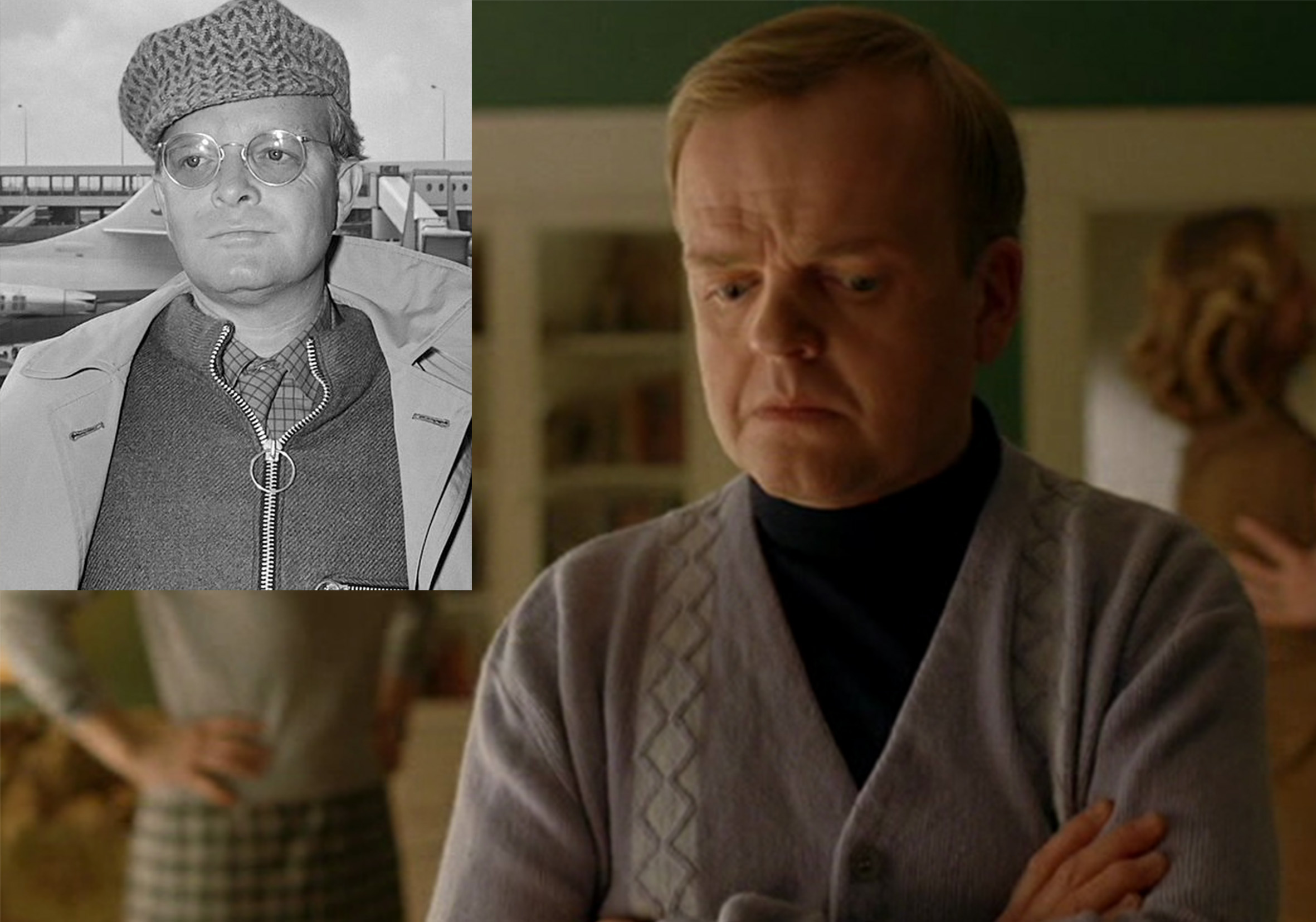 toby jones truman capote infamous 20 Actors Who Looked Exactly Like The Real People They Played