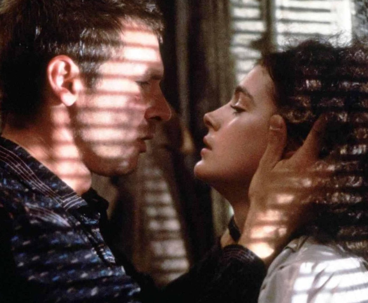 Blade Runner 1982 Deckard Harrison Ford and Rachael Sean Young e1597672749850 20 Great Movie Romances That Are Actually Deeply Problematic