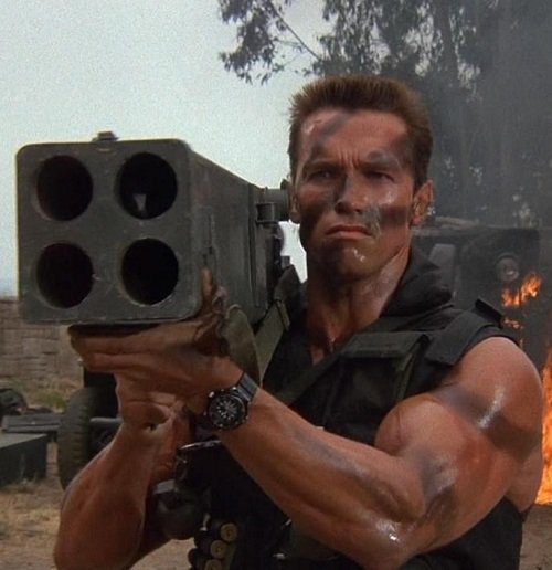 "Commando 1 20 Best Arnold Schwarzenegger One-Liners That Aren't ""I'll Be Back"""