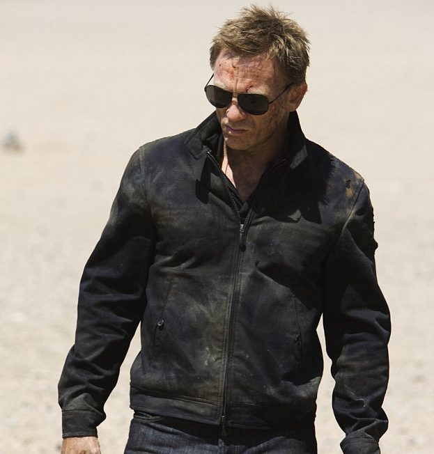Daniel Craig Quantum Of Solace James Bond Leather Jacket 3 e1582727503372 11 Of The Best James Bond Movies (And 10 Of The Worst)