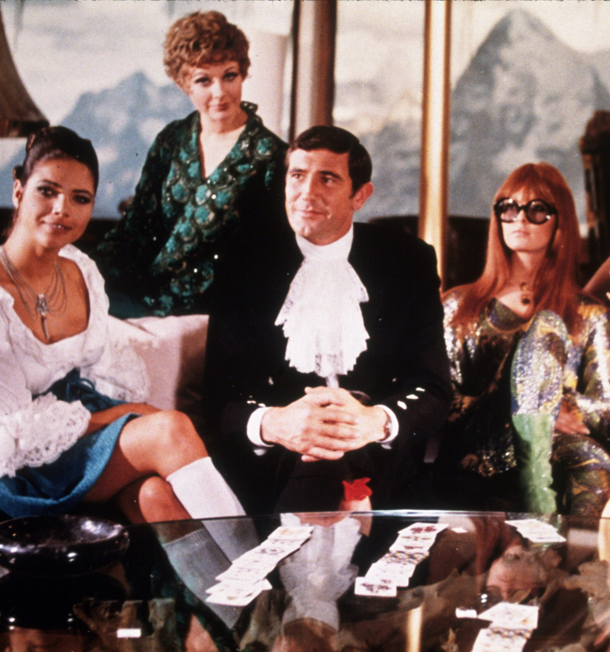 In 1969 on the Piz Gloria In her Majestys secret service look e1582713519335 11 Of The Best James Bond Movies (And 10 Of The Worst)