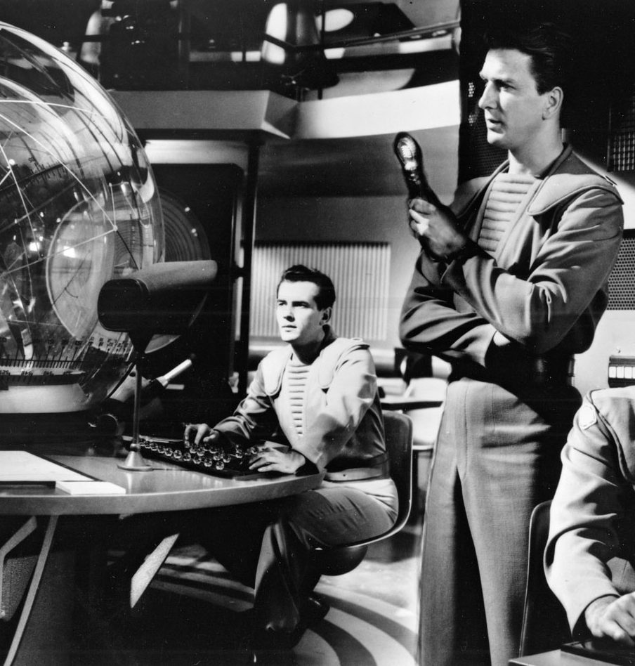 Leslie Nielsen Forbidden Planet scene Richard Anderson e1582893184759 20 Films You Didn't Know Were Based On Shakespeare Plays
