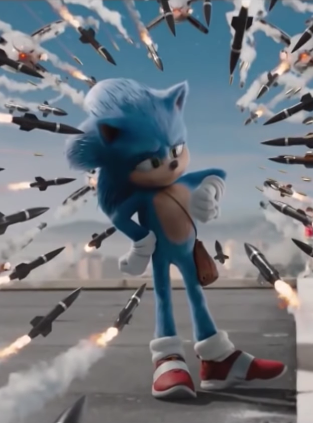 The Sonic Movies Idle Animation