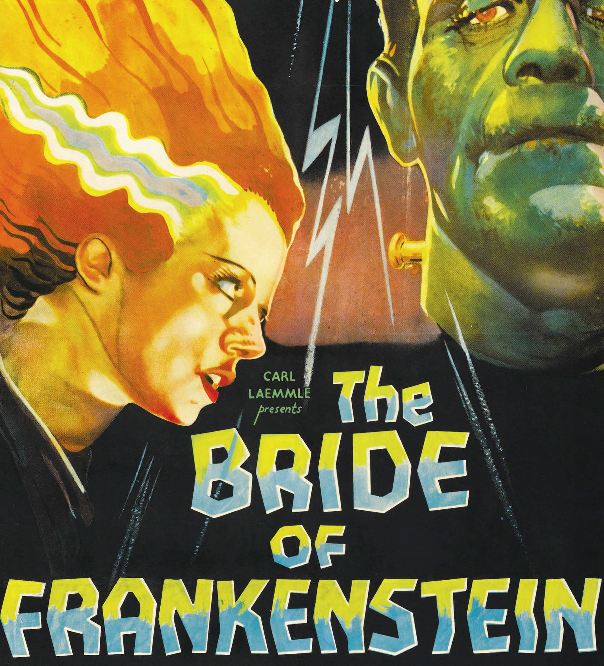 The Bride of Frankenstein 1935 poster e1583229883198 20 Horror Sequels That Are Actually Better Than The Original