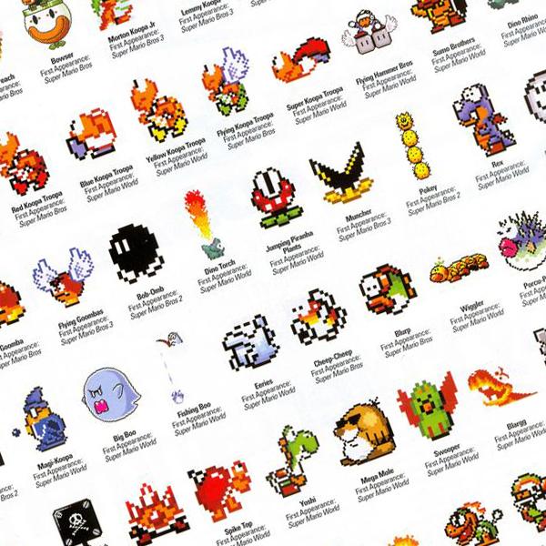 enemies1 20 Reasons Why Super Mario World Has Aged Better Than Super Mario Bros. 3