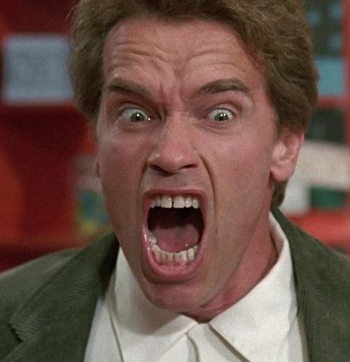 """kindergarten cop 1200 1200 675 675 crop 000000 20 Best Arnold Schwarzenegger One-Liners That Aren't """"I'll Be Back"""""""