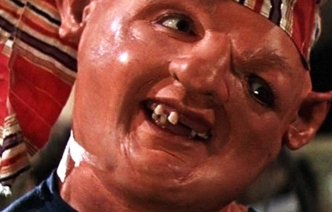 the goonies sloth 1182481 1280x0 1 e1597664111990 20 Traumatising Moments In 80s Kids' Movies