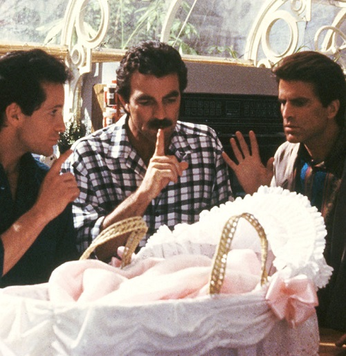 three men and a baby 1 20 Hollywood Hits You Didn't Know Were Remakes Of Foreign Films