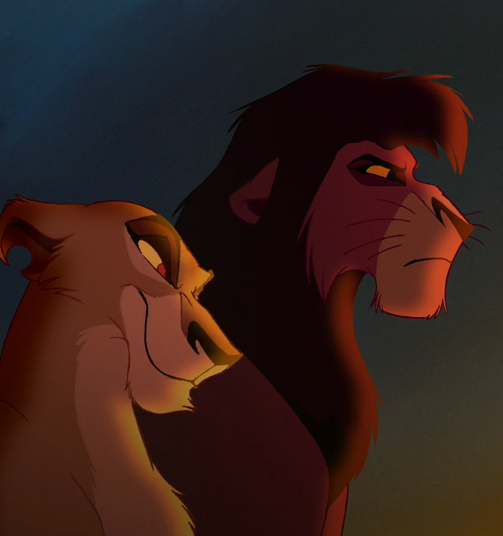zira and kovu e1582894845127 20 Films You Didn't Know Were Based On Shakespeare Plays
