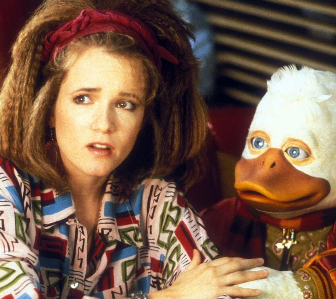 1509031279 howard the duck1 e1597754788175 20 Of The Most Bizarre 80s Films