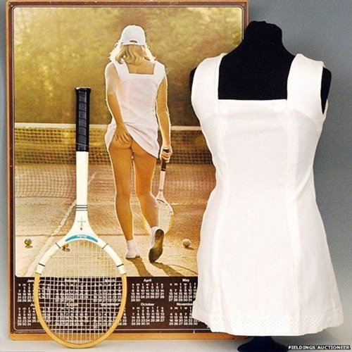 6 22 Remember This Classic Poster? Here's What The Tennis Girl Looks Like Now!