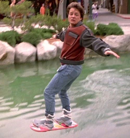 Back to the Future II Hoverboard 20 Films That Accurately Predicted The Future