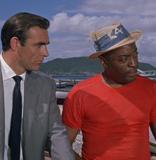 Dr. No Bond and Quarrel 20 Classic James Bond Moments That Have Aged Terribly