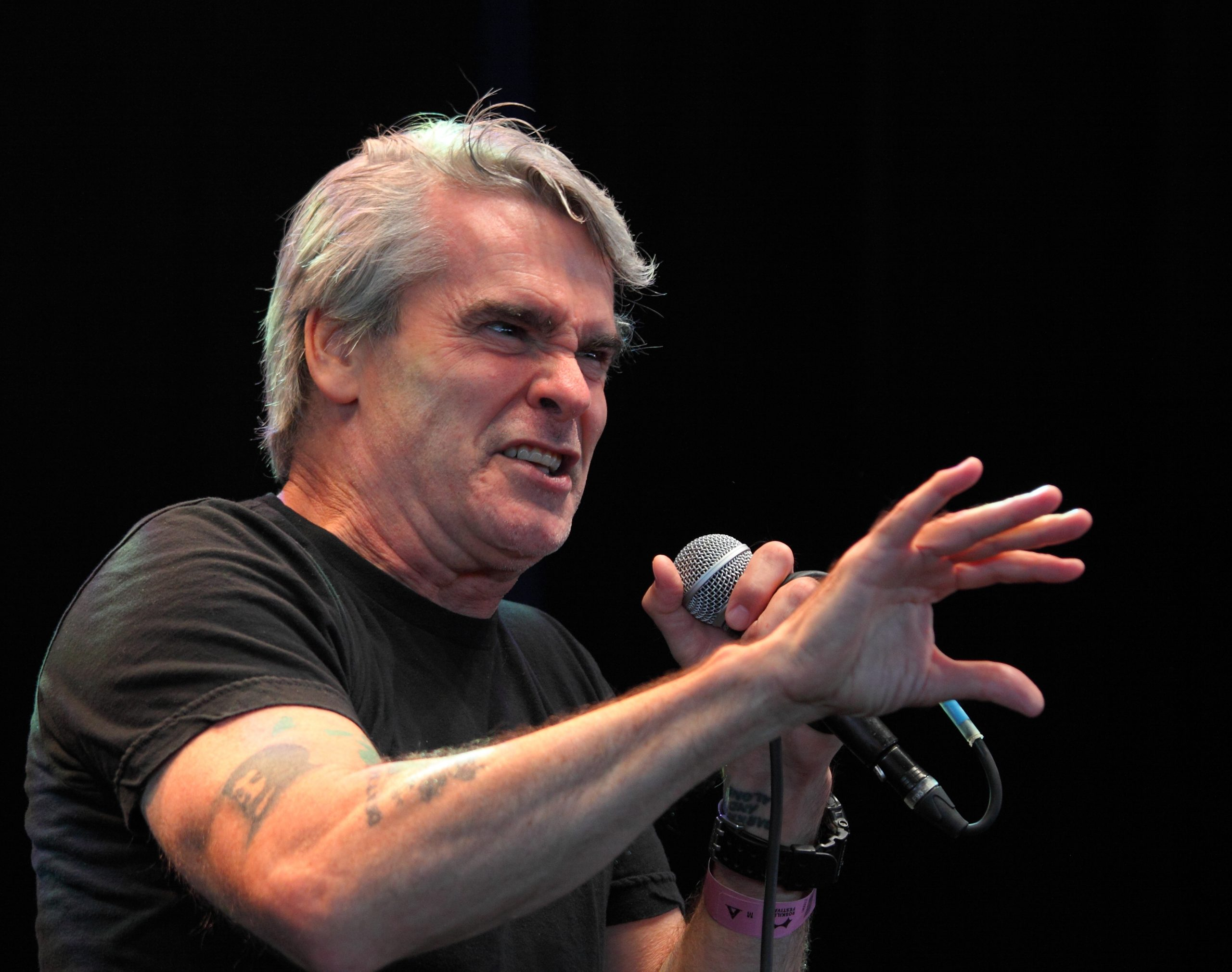 Henry Rollins at Roskilde Festival 2013 scaled 20 Things You Didn't Know About The 1995 Film Heat