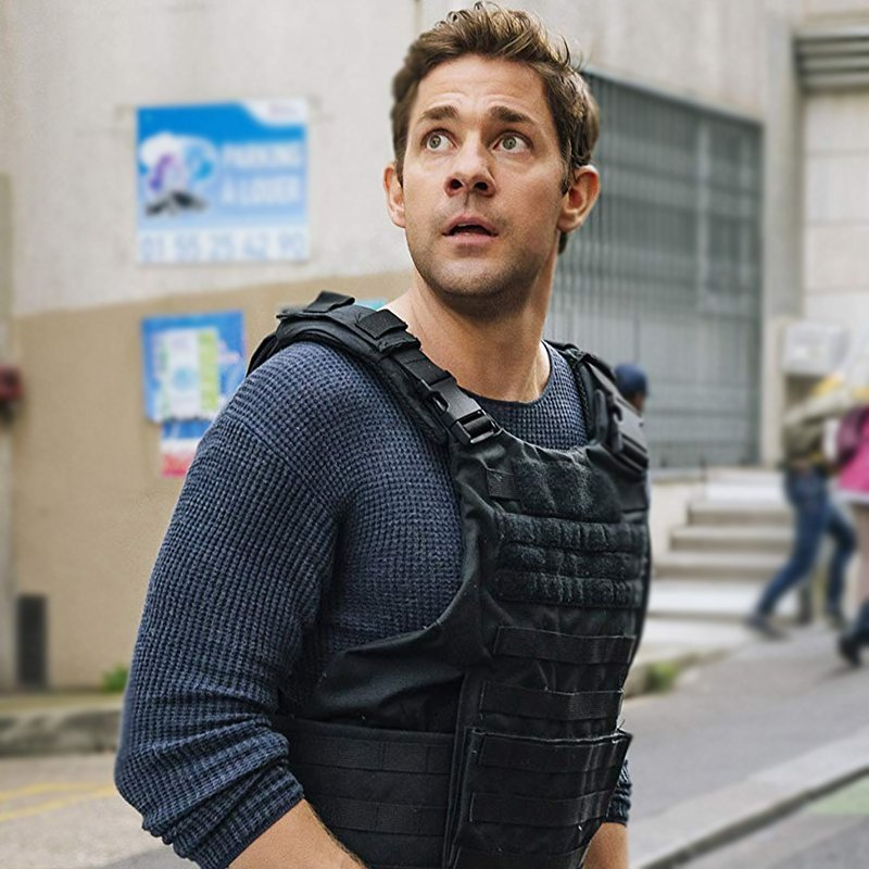 John Krasinski Tom Clancys Jack Ryan Vest 20 Things You Probably Didn't Know About The Hunt For Red October