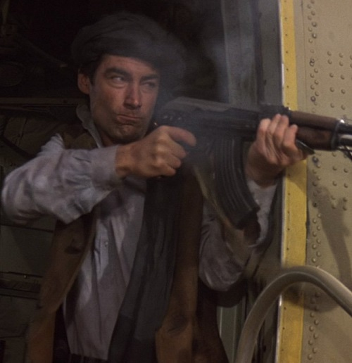 Living Daylights Afghan 20 Classic James Bond Moments That Have Aged Terribly