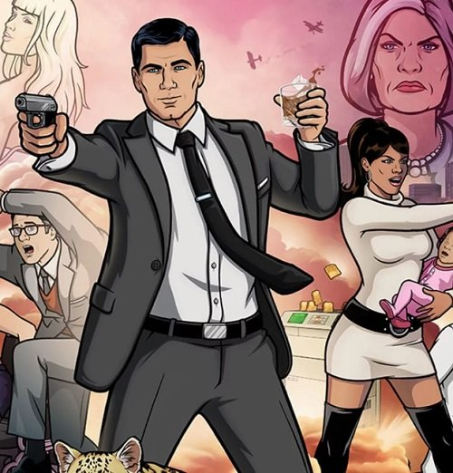 archer on bobs burgers 20 Of The Weirdest TV Crossovers Ever