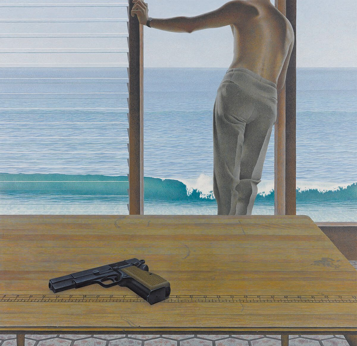 art books 25 alex colville pacific e1606750115740 20 Things You Didn't Know About The 1995 Film Heat