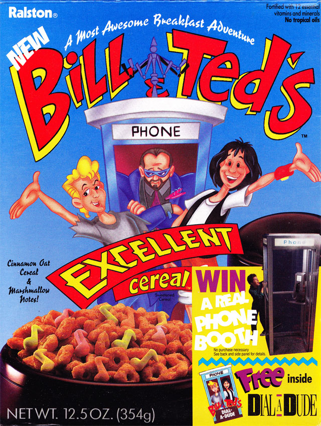 bill and ted The 20 Strangest Items Of Movie Merchandise You've Ever Seen