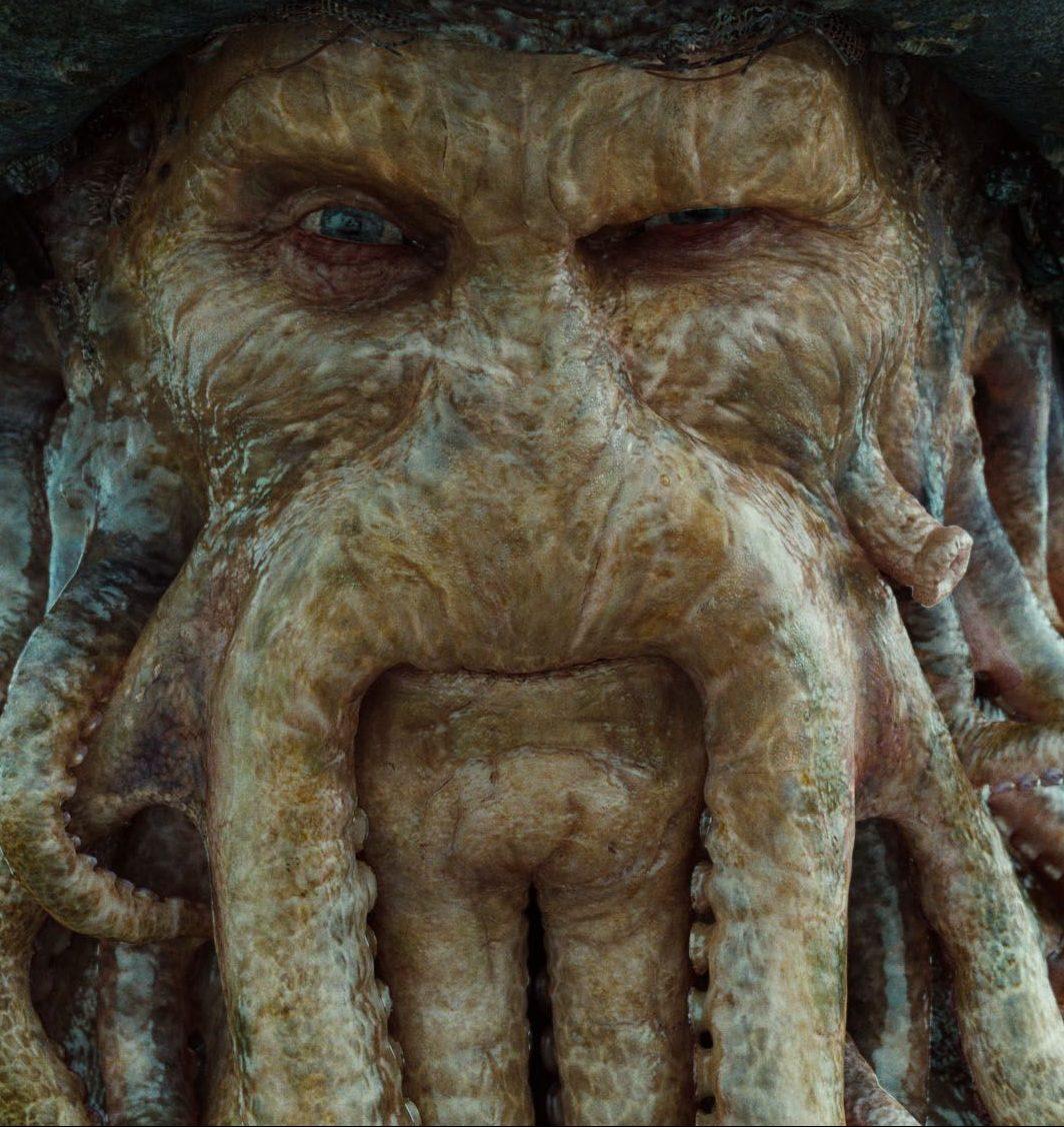 davyjones e1584534701610 The 20 Best CGI Movie Monsters Ever
