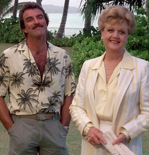 murder she wrote tom selleck 20 Of The Weirdest TV Crossovers Ever