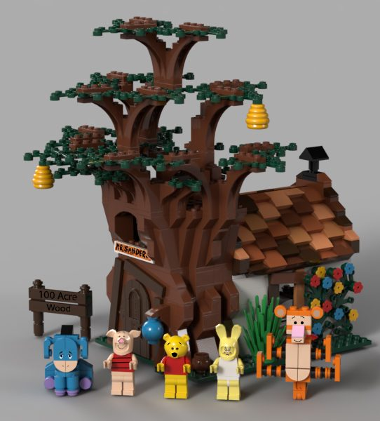 resize 1600 900 2 e1583321172555 Lego Ideas Is Releasing An Epic Winnie The Pooh Set - Complete With A Nightmarish-Looking Tigger