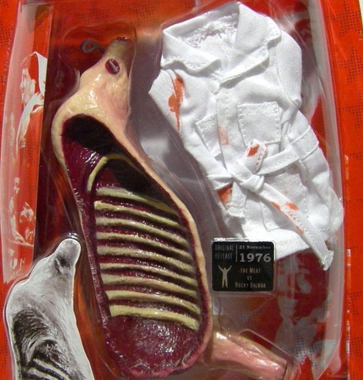 rocky meat e1604503055315 The 20 Strangest Items Of Movie Merchandise You've Ever Seen