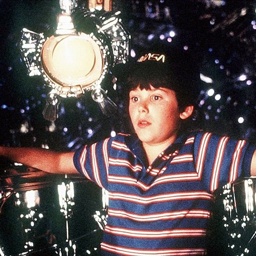 This photo shows Joe as a young boy, starring in Flight of the Navigator