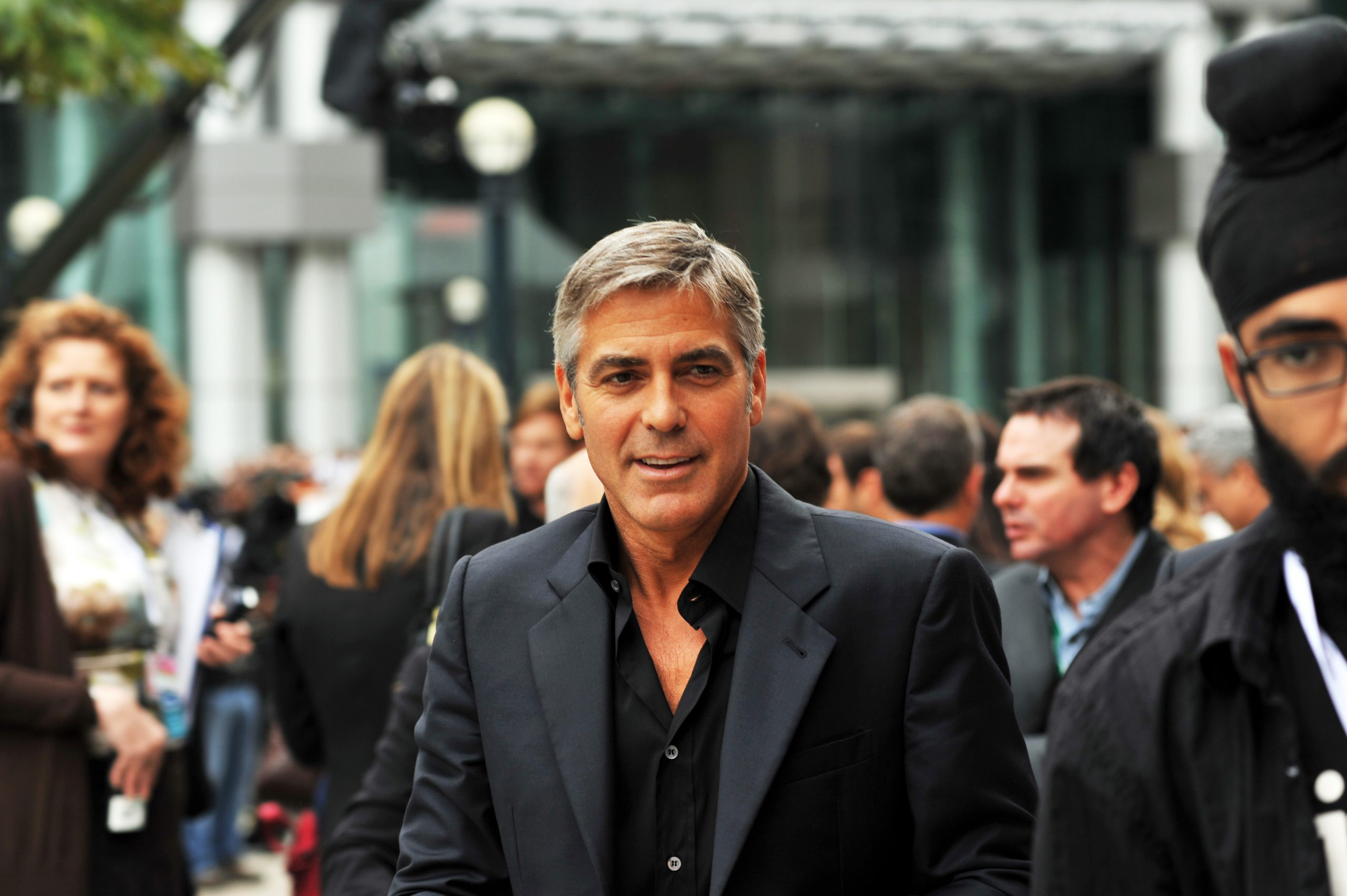 George Clooney 4 The Men Who Stare at Goats TIFF09 scaled 20 Things You Might Not Have Realised About ER