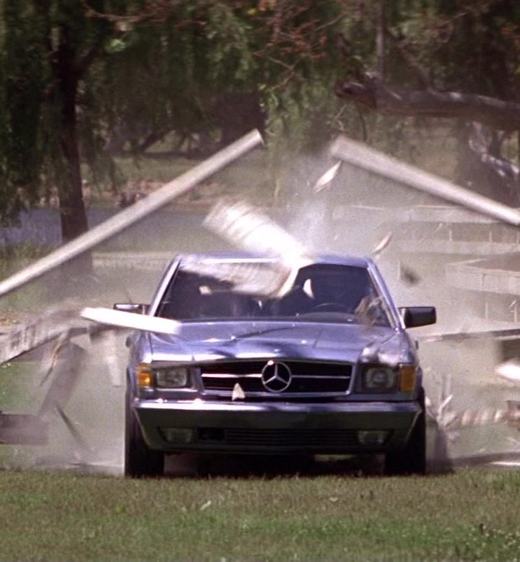 Mercedes Benz 560 SEC C126 Car Driven by Patrick Swayze in Road House 11 e1598347238928 20 Things You Might Not Have Realised About The 1989 Film Road House
