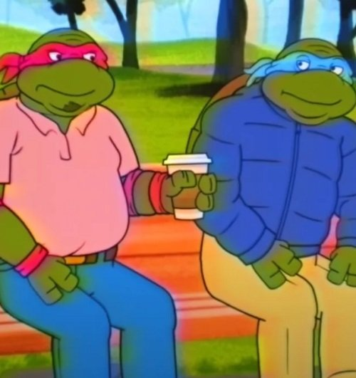 screen shot 2020 04 12 at 102700 am 1586705326930 Watch: 'Middle-Aged Mutant Ninja Turtles' Cartoon Imagines The Heroes In A Half Shell Getting Old
