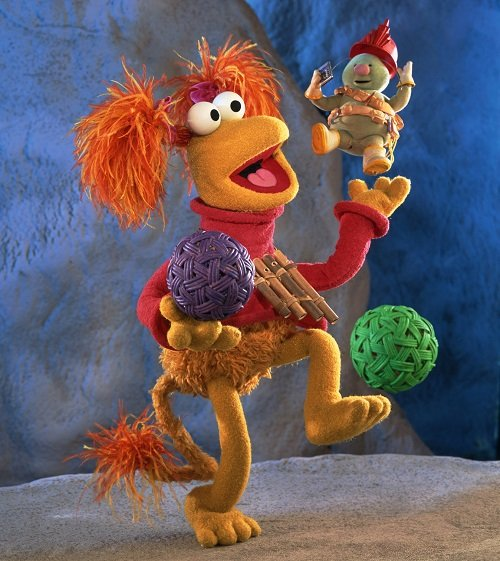 FraggleRock DoozerBalancingRed Jim Henson Company Is Rebooting One Of Its Best-Loved Shows